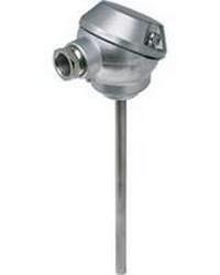 Ввинчивающийся термометр сопротивления для учета тепла с присоединительной головкой и защитной гильзой (Тип PL)